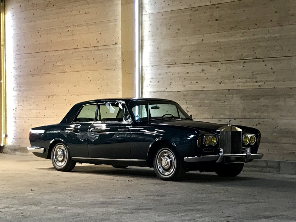 Rolls Royce Silver Shadow Coupe Mulliner Park Ward