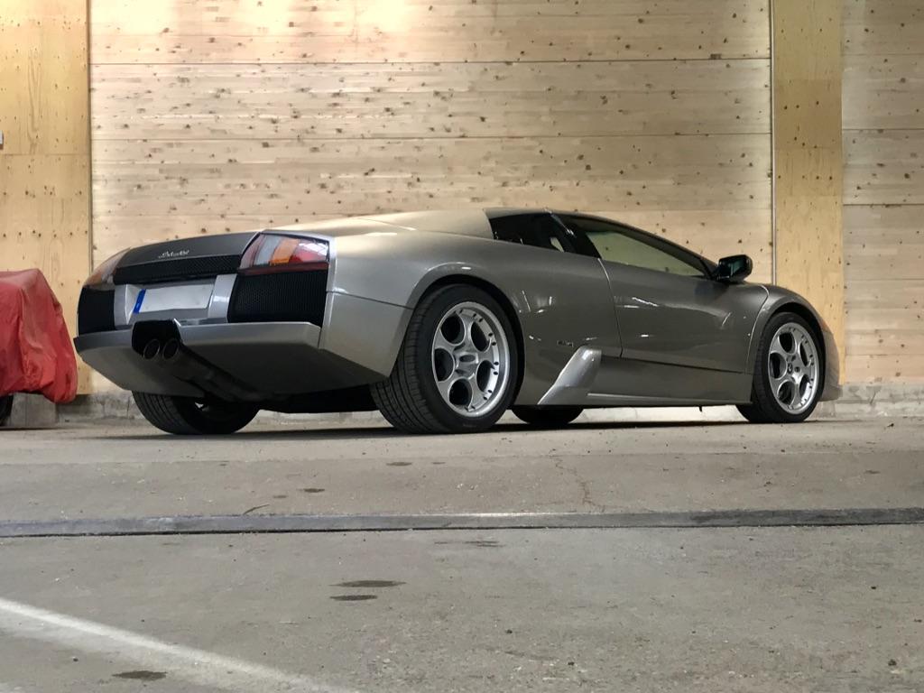 Lamborghini Murcielago V12 6.2 BVM