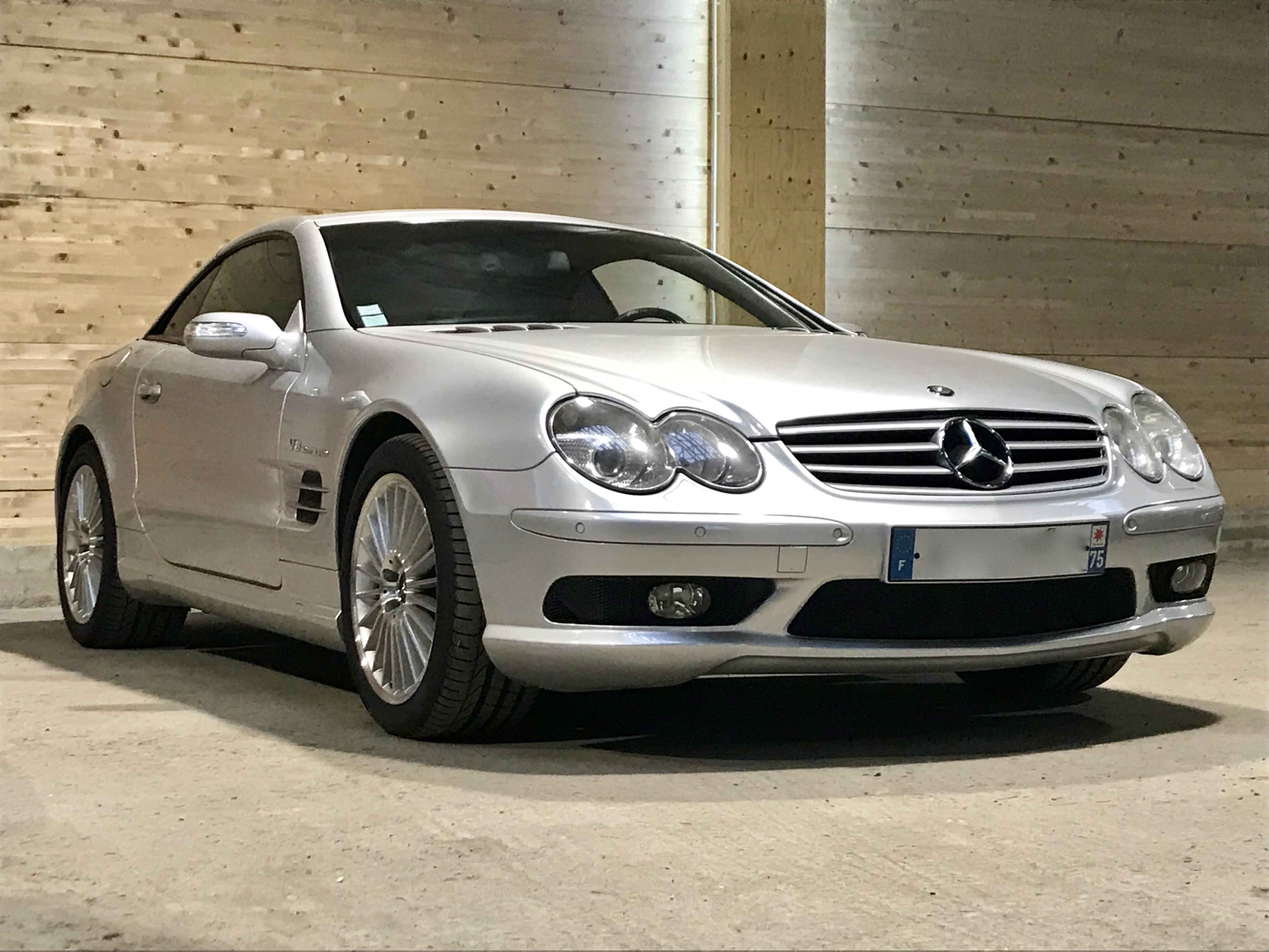 Mercedes SL55 AMG 500ch