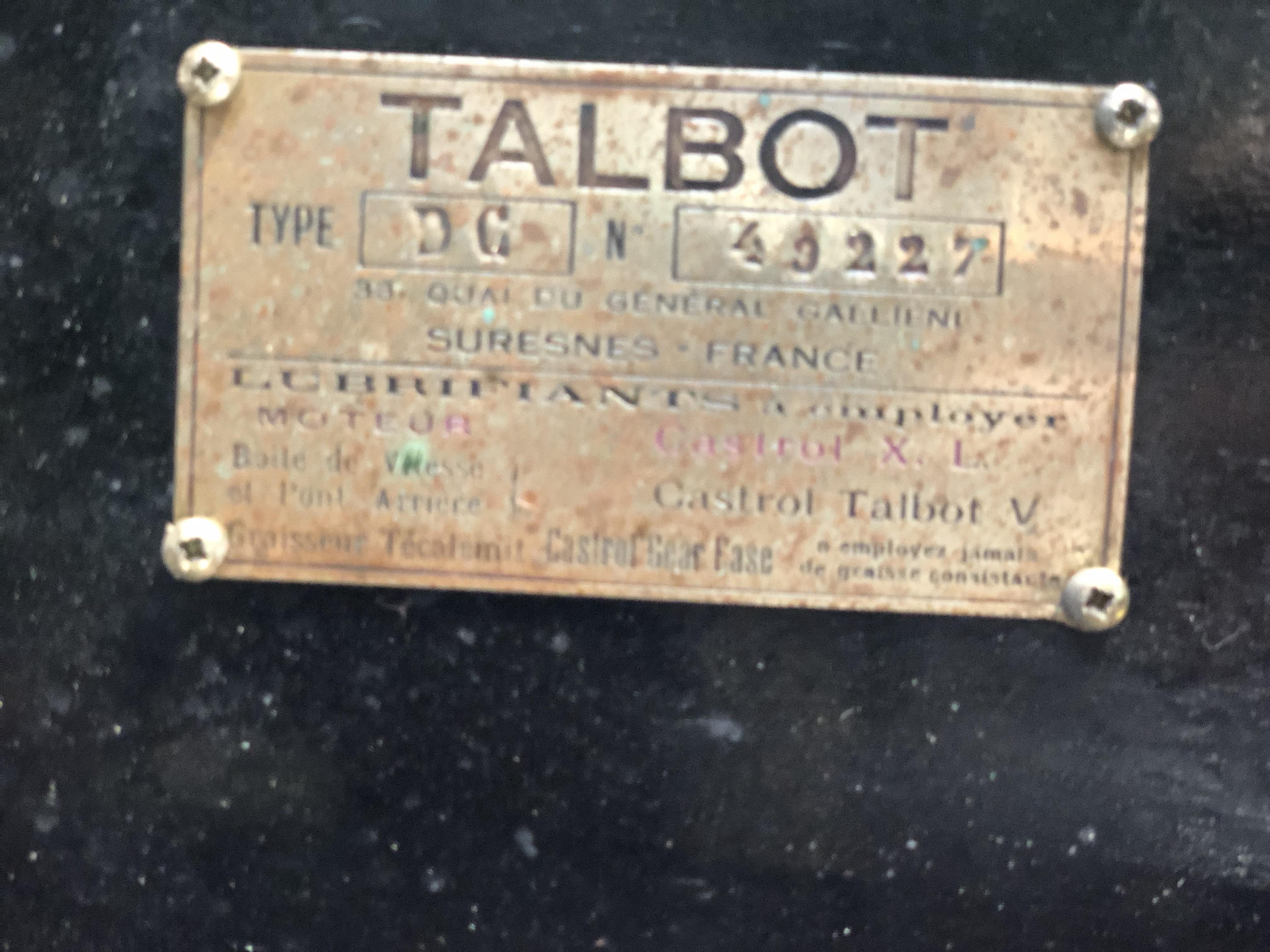 Talbot DC10 Sport Saoutchik