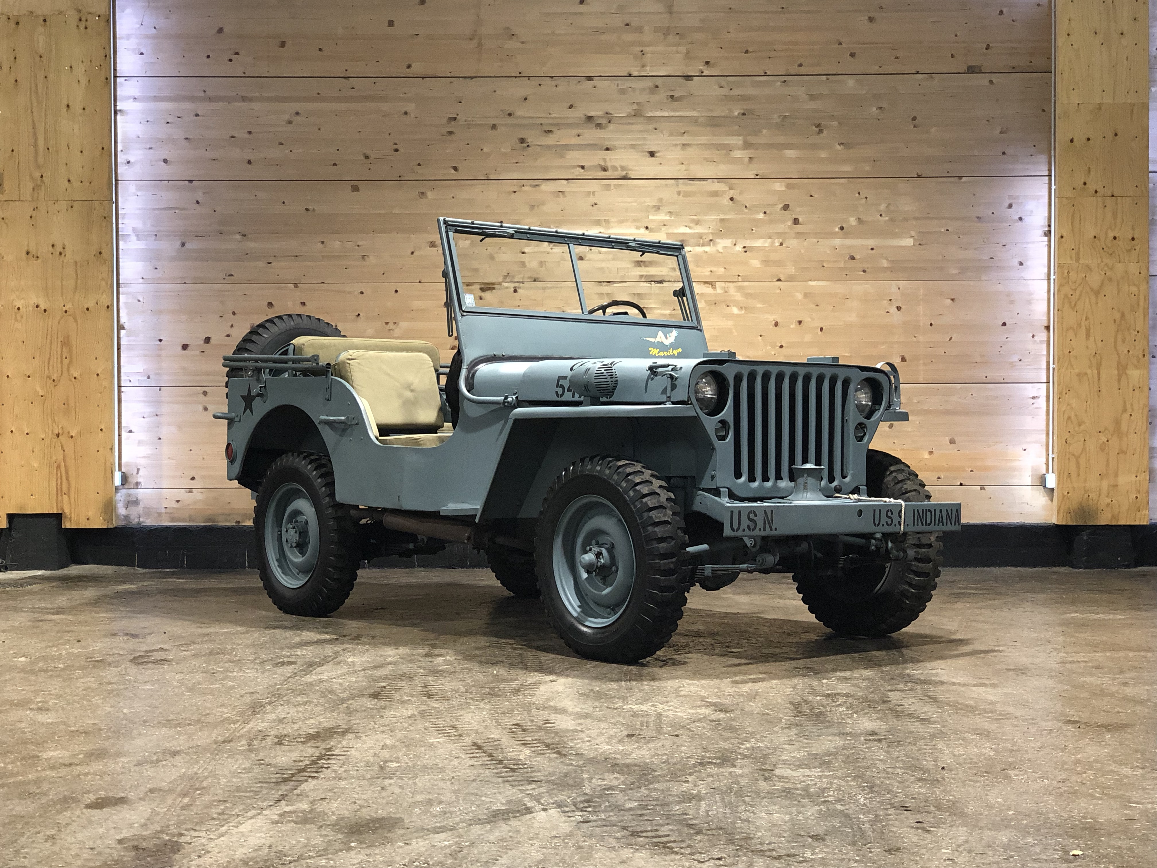 Jeep Willys « Navy »