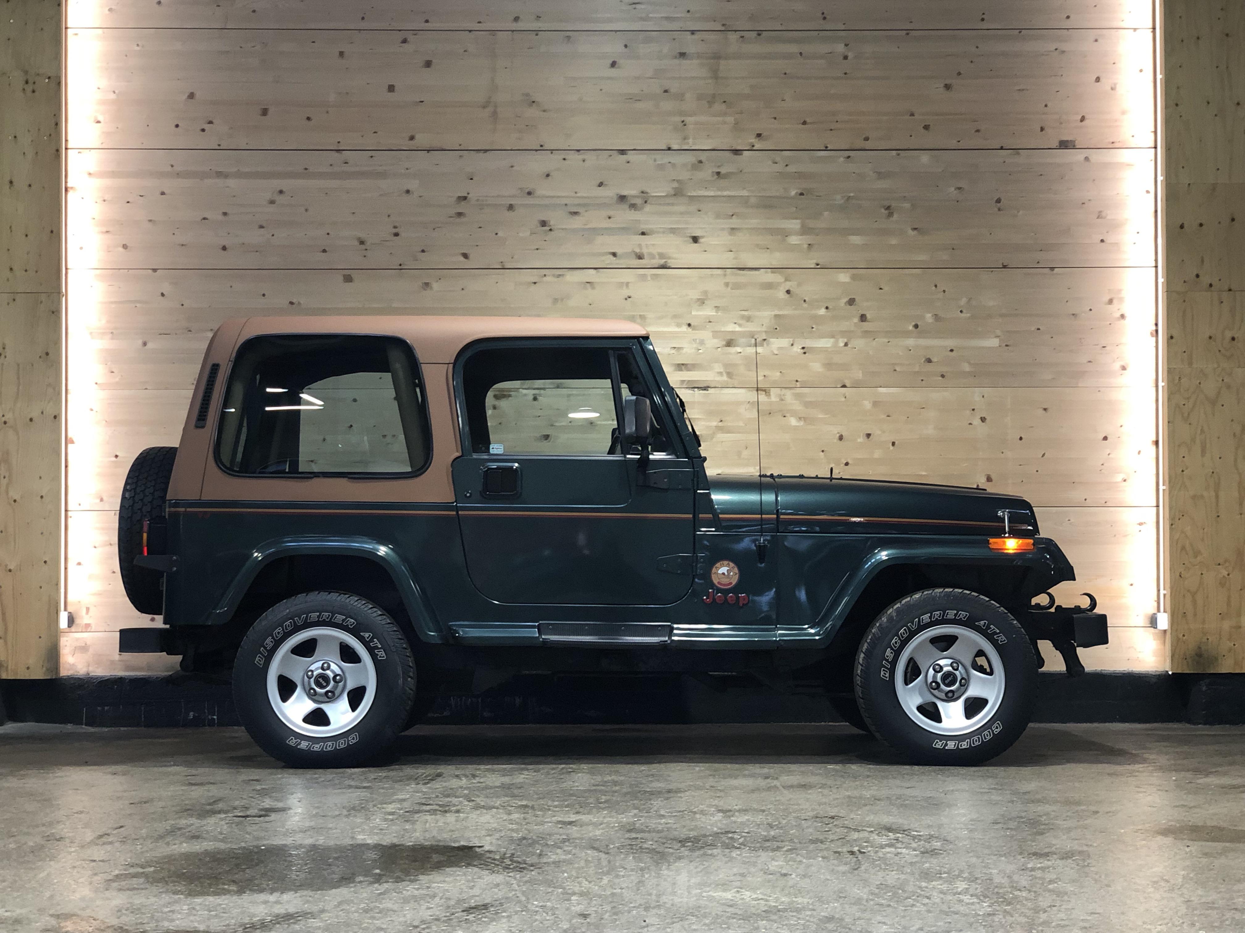 Jeep Wrangler YJ 4.0 Sahara