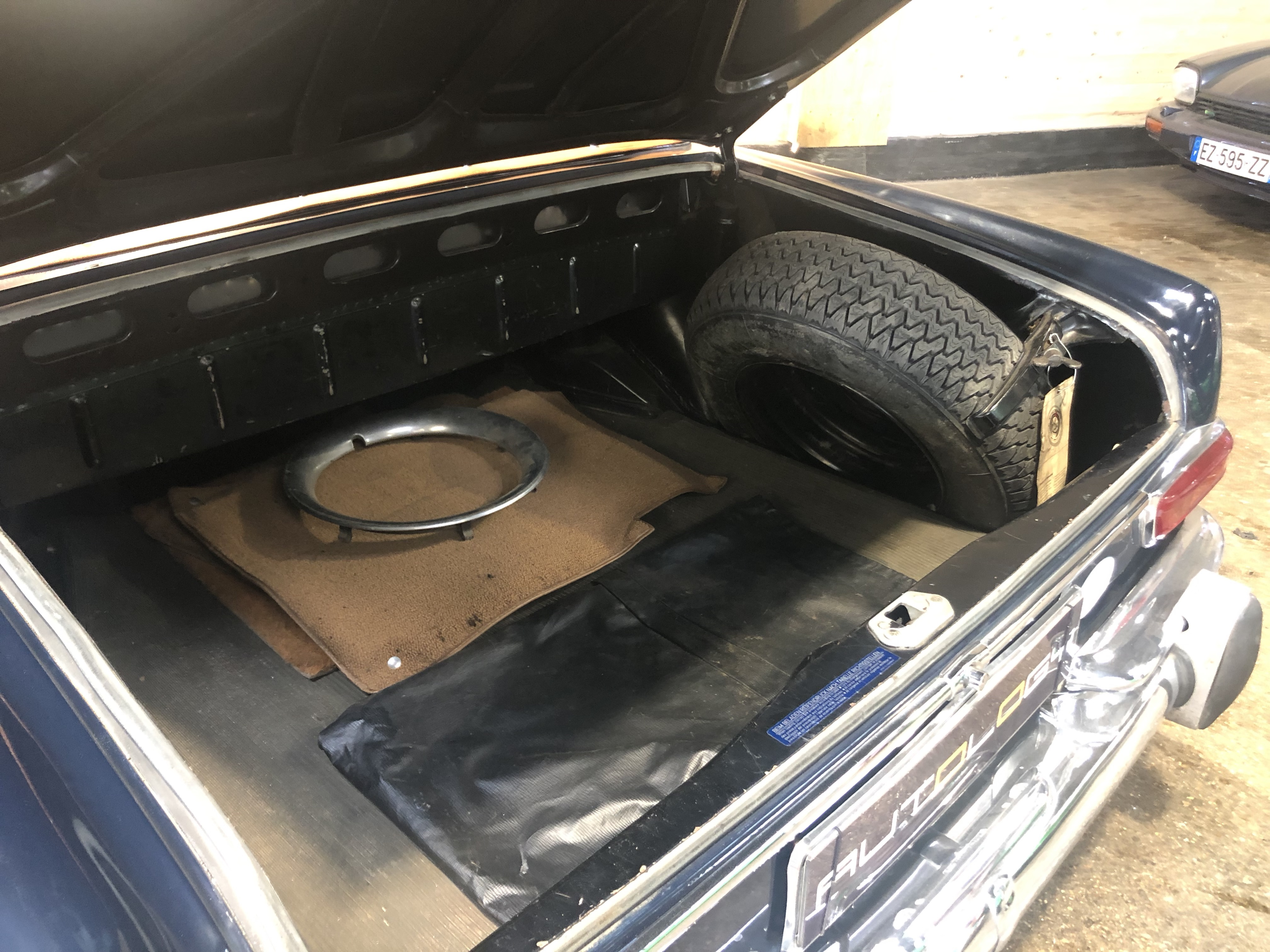 Mercedes 220 SE Cabriolet BVA 1ère main!