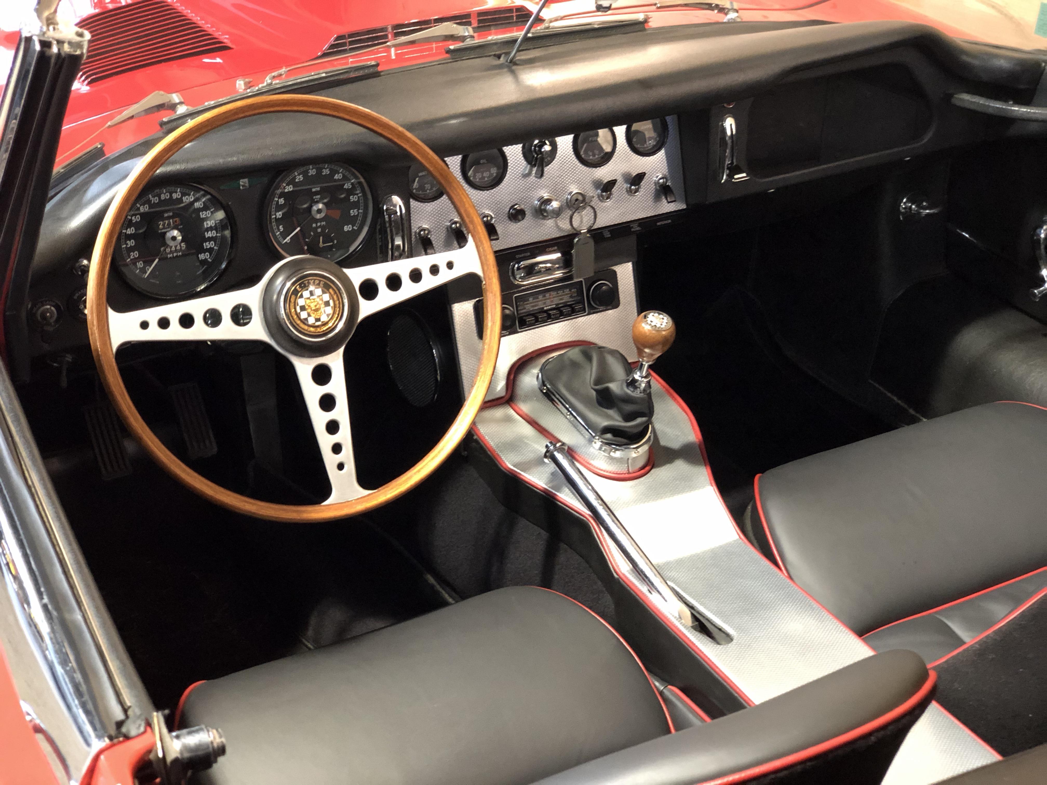 Jaguar Type E Série I 3.8 Roadster