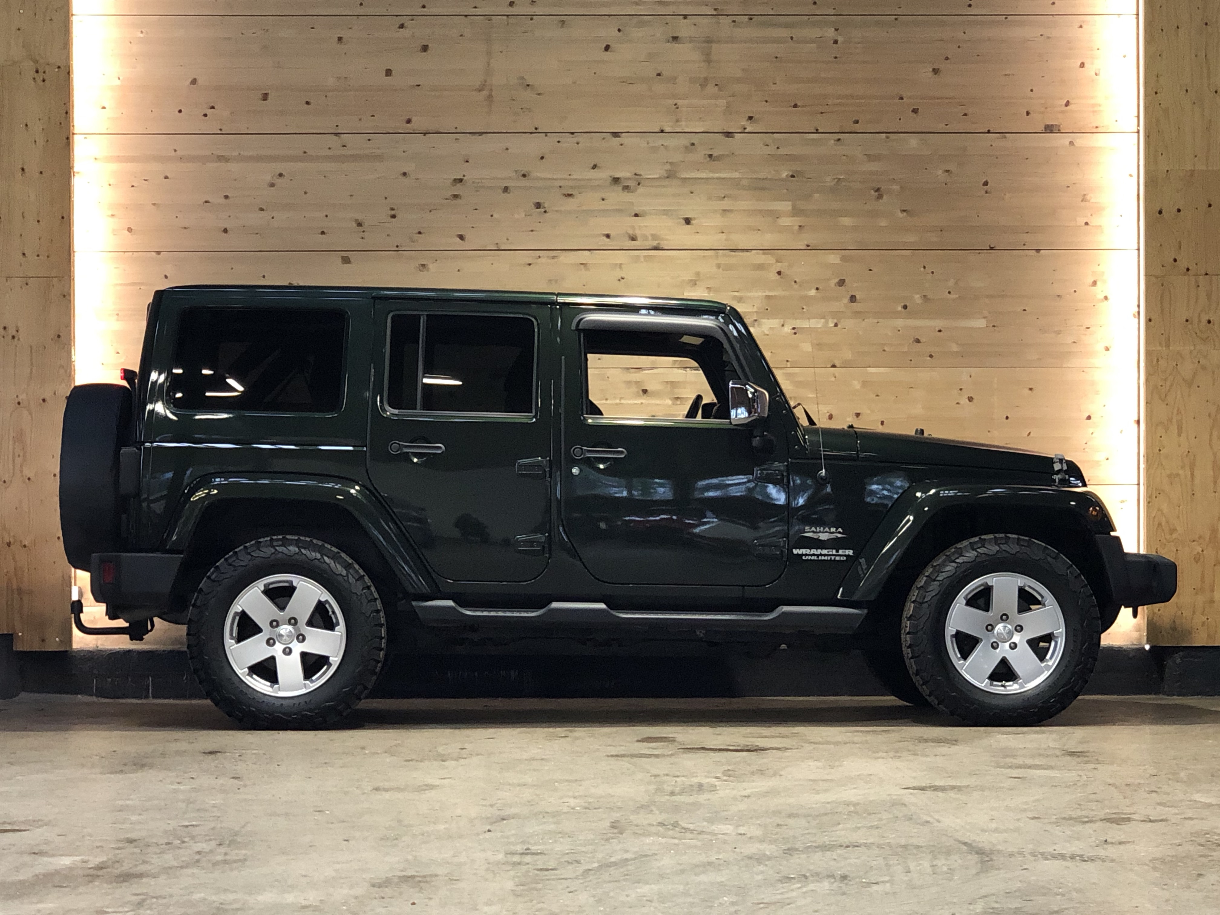 Jeep Wrangler Unlimited 2.8 CRD 200ch Sahara