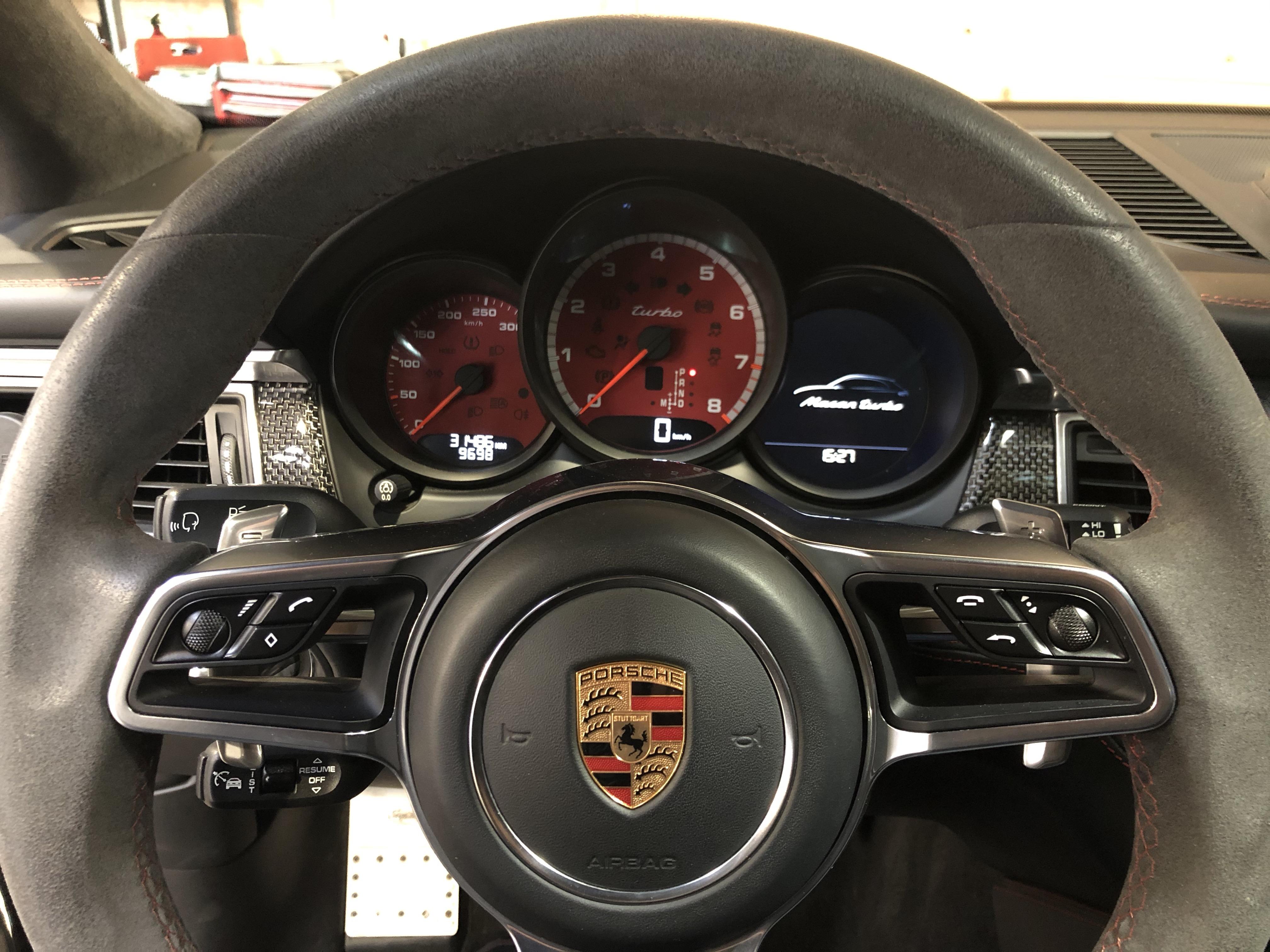 Porsche Macan Turbo Pack Performance Techart