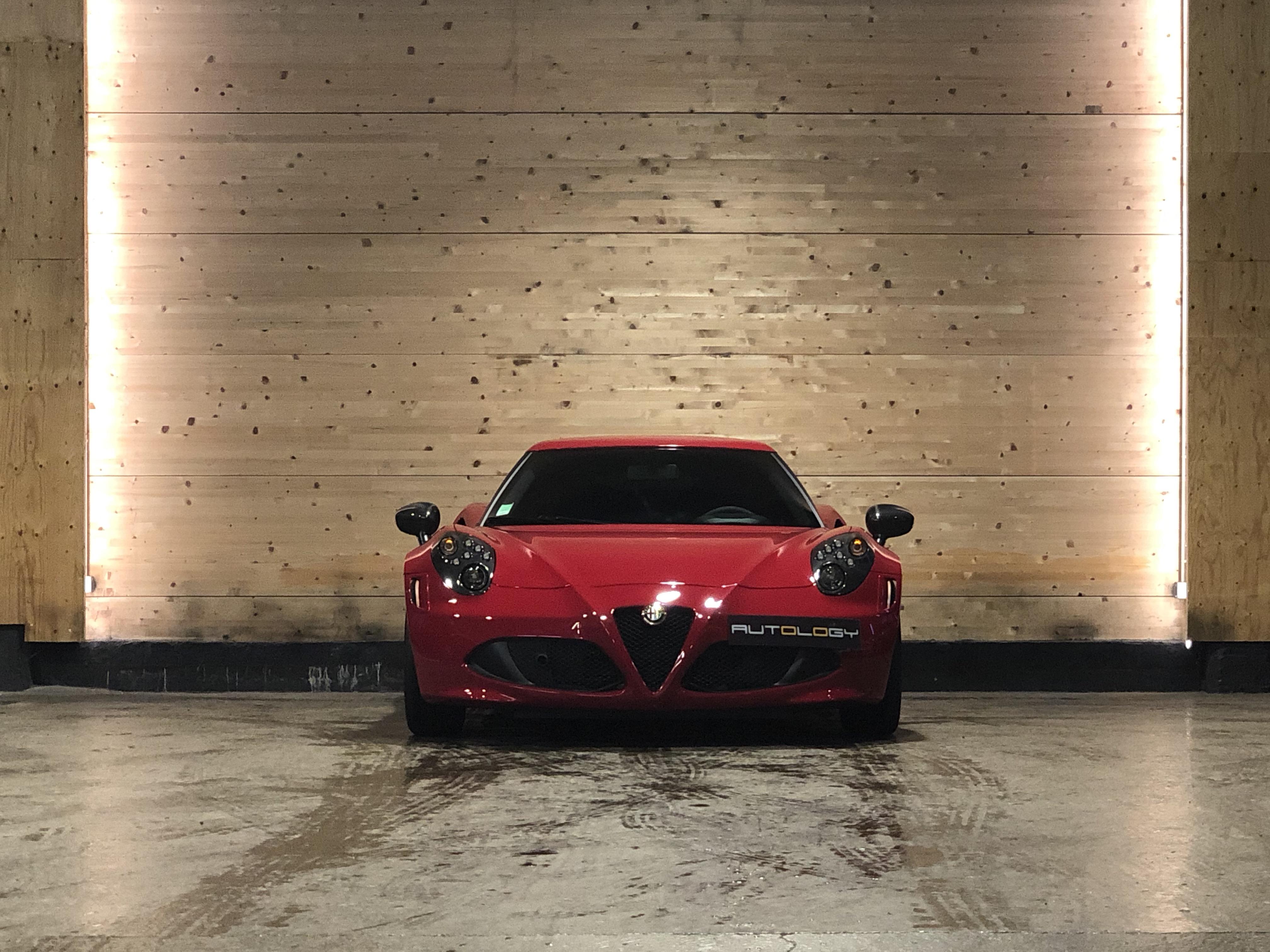 Alfa Romeo 4C Launch Edition 341/500