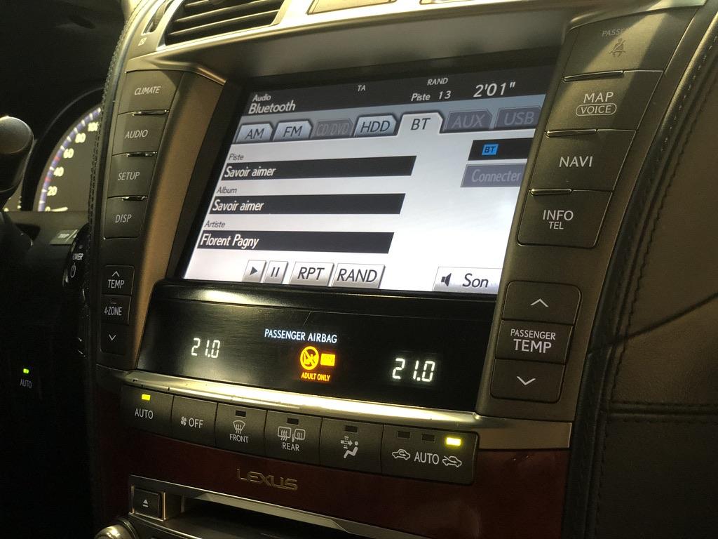 Lexus LS600h Pack President