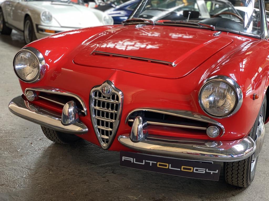 Alfa Romeo Giulia Spider 1600