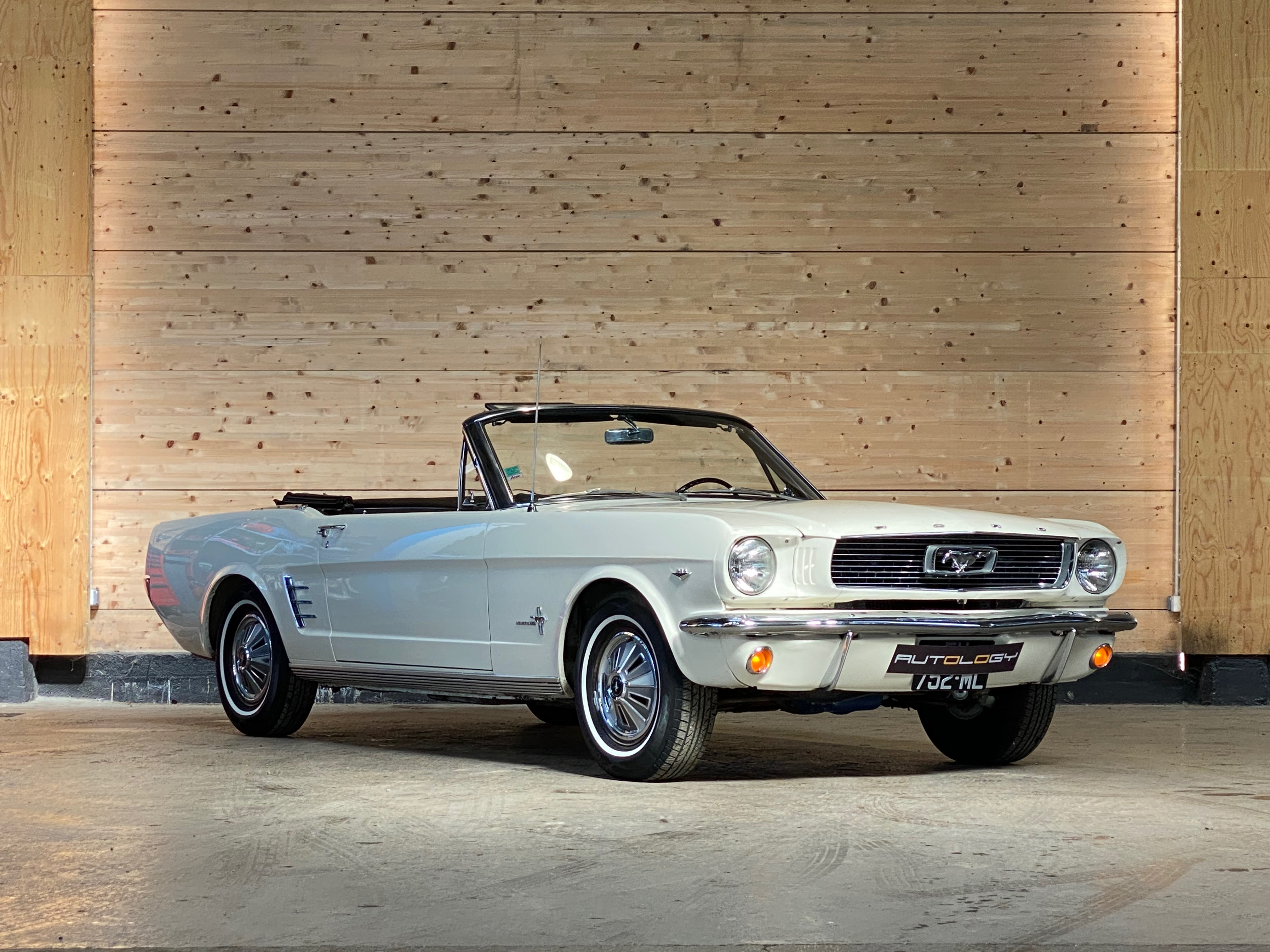 Ford Mustang V8 289 « Code A » Cabriolet