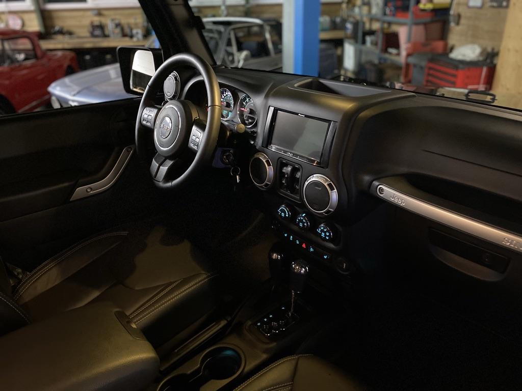 Jeep Wrangler JK Sahara 3.6 V6