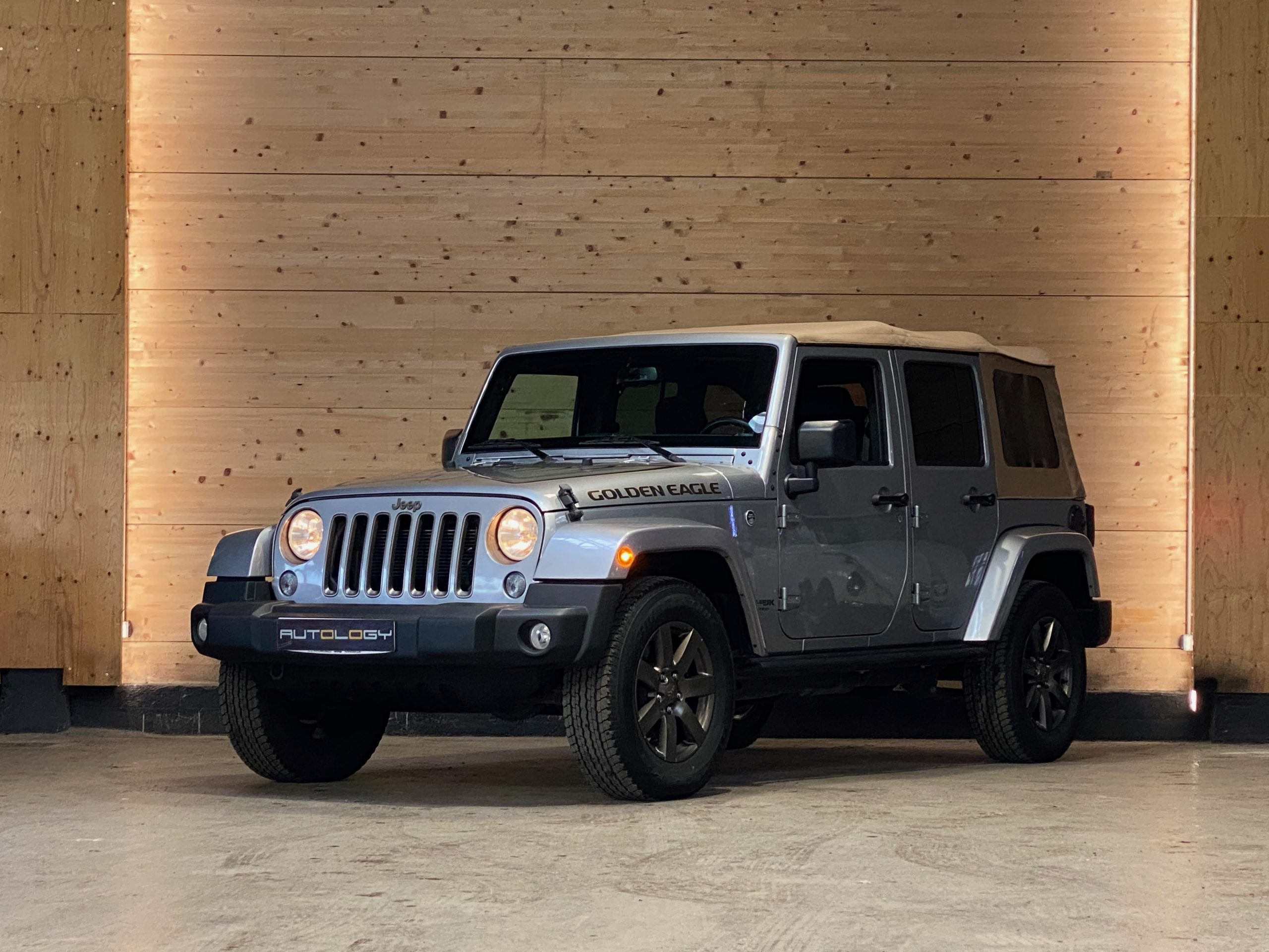 Jeep Wrangler JK Unlimited V6 3.6 Golden Eagle